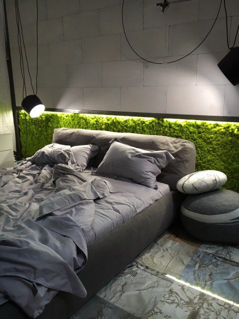 Moss Wall Bed Detail Desireign