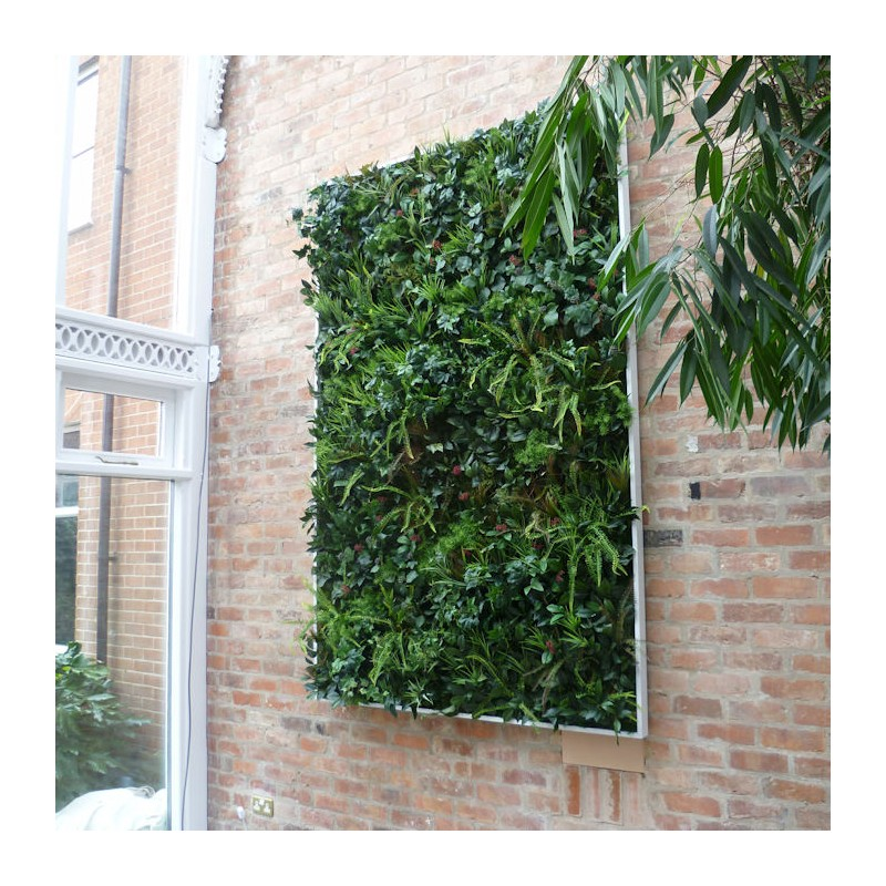 Artificial Green Wall Framed Desireign