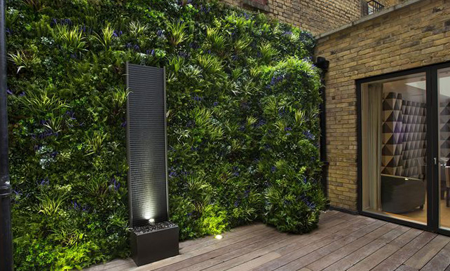 Artificial Vertical Garden Outdoor