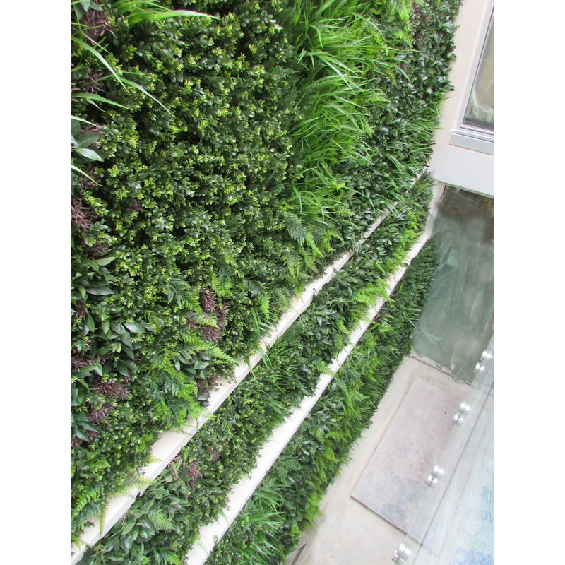 Double Height Artificial Green Wall Indoor